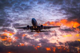 4144 West Jet 737