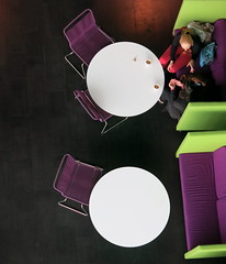 :    [Explored] (Alex L'aventurier,) Tags: people coffee café colors canon iceland cafe chairs pov geometry couleurs circles candid reykjavik tables géométrie chaises islande cercle concerthall rond rounds harpa g15