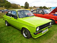 Lathalmond (View of a Ford Escort Mexico Mk2) (Netty 78) Tags: green classic ford car mexico scotland automobile europe european day display fife britain united union great scottish kingdom vehicle mk2 british 1978 escort 2014 lathalmond