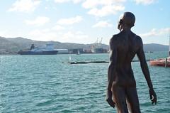 L'art entre deux ferry à Wellington