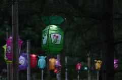 DSC_0847a (Fransois) Tags: lanternes chinoises chinese lanterns nuit night bokeh montréal québec jardinbotanique botanicalgarden calme quiet quietness