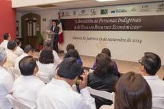 Gabino Cu, El Pueblo les devuelve su libertad, sean un orgullo para Oaxaca: Gabino Cu, Oaxaca (Gabino Cu Monteagudo) Tags: indgenas libertad cue septiembre