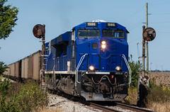 SVTX 1986 EVWR SS1 Epworth IL 14 Sept 2014 (Train Chaser) Tags: es44ac evwr evansvillewestern svtx svtx1986