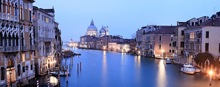The view from Ponte dell'Accademia