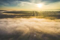 Fog | Kaunas Aerial (A. Aleksandraviius) Tags: river neris kaunas lithuania lietuva drone aerial dronas highway a1 road traffic rushhour aerialphotography dji djiphantom3 phantom phantom3 phantom3advanced advanced europe birdseye landscape djiglobal djieurope