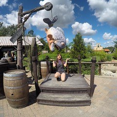 1% grace, 99% fun! 😜🎣 #djurssommerland #ferie #djurs #denmark #danmark #goprooftheday #gopro #goprohero4 #goprohero #happykid #thebelewanders #summer16 #summer #summerlovin #summer2016 #summerdays #summer