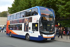 Stagecoach AD Enviro 400MMC 10627 SN16OXJ - Stockport (dwb transport photos) Tags: stagecoach alexander dennis enviro 400mmc 10627 sn16oxj bus decker stockport