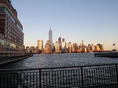 sometimes (hollow sidewalks) Tags: newjersey jerseycity freedomtower skyline nycskyline exchangeplace nyc newyorkcity manhattan hollowsidewalks
