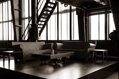 home sweet home (Landesfahrer) Tags: heimat glck kunst art industriekultur zollverein bergbau kohle ruhrgebiet sofa tisch romantik