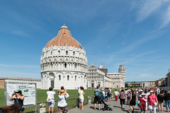 Pisa - Piazza dei Miracoli mit Baptisterium, Kathedrale und Campanile (CocoChantre) Tags: baptisterium campanile kathedrale piazzadeimiracoli pisa schieferturmvonpisa toscana italien it