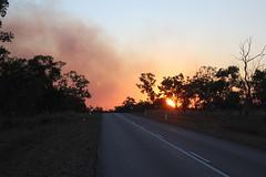 Burn off near Edith (cathm2) Tags: australia nt edith katherine burnoff fire smoke travel