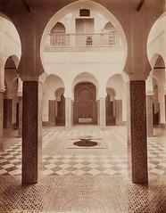 Bricho's Palace, Tetouan, 1889 (Benbouzid) Tags: moorich andalous  tetouan titwan   palace palais court maure bricho