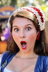Shocked (wyojones) Tags: texas texasrenaissancefestival toddmission texasrenfest renfest renfaire renaissancefaire faire renaissancefestival festival trf girl woman brunette maiden wench cute pretty lovely gorgeous beautiful beauty browneyes smile lips redlips princess english lady royalty kierra katherinehoward shock surprise mouthopen
