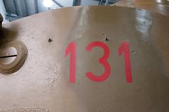 T131 Turret left (VstromJ) Tags: pz vi 131 pzvi tiger131 fury