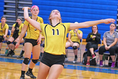 IMG_10392 (SJH Foto) Tags: girls volleyball high school lampeterstrasburg lampeter strasburg solanco team tween teen east teenager varsity spike burst mode