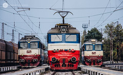 Tripple TBD (cossie*bossie) Tags: tbd bobov dol thermal power plant coal freight trains bulgaria sofia zaharna fabrika locomotives 60 0819 44 072 1243 sulzer skoda 068e electric diesel station rail railway