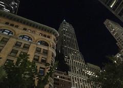 IMG_3954 (kz1000ps) Tags: newyorkcity nyc manhattan architecture construction realestate development cityscape urbanism downtown financial district night lights wallstreet 40 artdeco