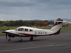 G-RATV Piper Turbo Cherokee Arrow IV (Aircaft @ Gloucestershire Airport By James) Tags: gloucestershire airport gratv piper turbo cherokee arrow iv egbj james lloyds
