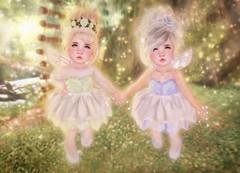 Maggie0294 ~ BeBe Bundle Photo Contest (October/2016) (Maggie0294) Tags: sl secondlife second life td toddler toddleedoo cute fairy tinkerbell bebebundle bebe clairdelune blues diva