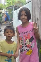sister and brother (the foreign photographer - ) Tags: aug282016nikon sister brother pink dress khlong bang bua portraits bangkhen bangkok thailand nikon d3200