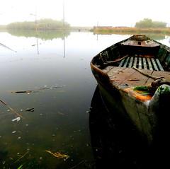 IMG_0002x (gzammarchi) Tags: italia paesaggio natura ravenna piallassabaiona canale lago portocorsini riflesso barca