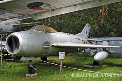 MIG-19S 0876 CZECH AIR FORCE (shanairpic) Tags: preserved museum military jetfighter zruc mig