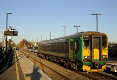153-356-Coventry-Ricoh-Arena-29-11-2016 (D1021) Tags: 153 153356 londonmidland sprinter dmu coventryarena ricoharena coventry westmidlands nikond700 d700
