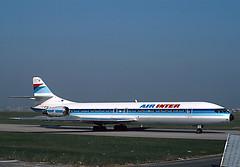 F-BTOB (ilyushin18) Tags: caravelle se210 flugzeug aircraft plane airliner ory jet