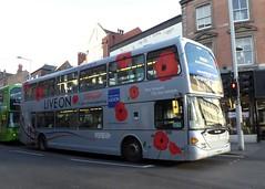 959 NCT Poppy Bus (timothyr673) Tags: nct nottingham scania omnidekka optare 959 poppybus nottinghamcitytransport bus