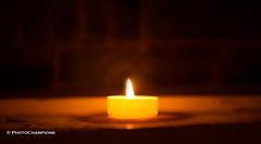 ein Licht (PhotoChampions) Tags: licht kerze advent stimmung orange kirche