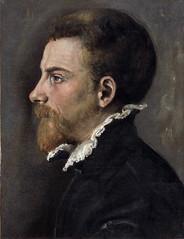 Portrait of a Bearded man in Profile (lluisribesmateu1969) Tags: 16thcentury carracci portrait notonview kunsthistorischesmuseumwien vienna