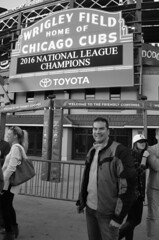 Wrigley Field (tacosnachosburritos) Tags: chicago cubs wrigleyville wrigley field baseball ballpark stadium arena street photography thestreets sports champ world series champions national league