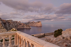 Langzeitbelichtung Mittelmeer vom Cap de Formentor, Mallorca