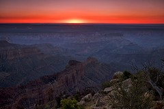 sunrise, point imperial, grand canyon (twurdemann) Tags: 09ndsoftgradreverse americansouthwest arizona coloradoriver dawn fujixt1 gnr3 grandcanyon horizon landscape nikcolorefex northrim overlook pointimperial singhray sunrise tonalcontrast unitedstates viveza walhallaplateau xf1855mm