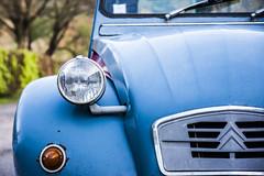 2 CV (Matthew on the road) Tags: munster france camp camping 2cv 2 cv car french frenchcar spring time springtime april 2016 april2016 blu citroen citroen2cv