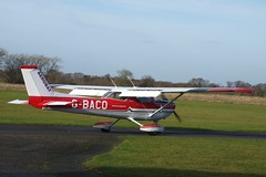 Reims Cessna FRA.150L Aerobat G-BACO (Old Buck Shots) Tags: keith sowter egsv