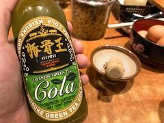 Japanese Green Tea Cola (Jerry (jerrywongjh)) Tags: singapore food ramen japanese japanesefood tonkotsuramen tonkotsu cola greentea greenteacola