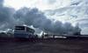 Krafla geothermal plant, Iceland (SteveInLeighton's Photos) Tags: kodachrome transparency iceland 1984 july steam bus geothermal powerplant myvatn