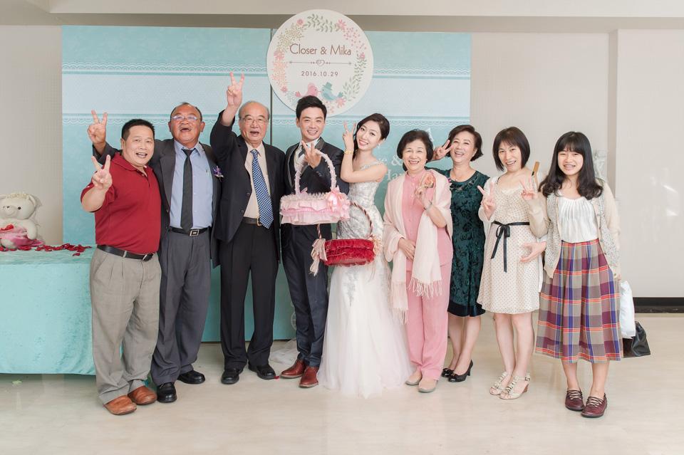 台南婚攝 婚禮紀錄 情定婚宴城堡 C & M 183