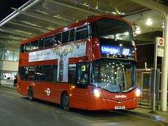 Hybrid City (londonbusexplorer) Tags: metroline london volvo b5lh wrightbus gemini 3 mkii vwh2179 lk16dfy 607 white city uxbridge tfl buses