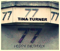 TT 77 (streamer020nl) Tags: 77 tina turner 1939 2016 birthday verjaardag annamaebullock tinaturner