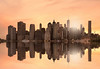 manhattan skyline (poludziber1) Tags: manhattan ny nyc newyork city colorful cityscape color clouds sky skyline sunset sea orange travel streetphotography landscap america architecture challengeyouwinner cyunanimous friendlychallenges