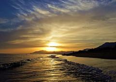 Ocaso (Antonio Chacon) Tags: andalucia atardecer marbella mlaga mar mediterrneo costadelsol espaa spain sunset