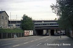 Mnchen balanstrasse Eisenbahnunterfhrung (Pacific11) Tags: mnchen munich 1970 1971 vintage alt selten bilder bayern balanstrasse unterfhrung