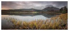 Loch Achray Pano (Dylan Nardini) Tags: nikon achray local scotland winter trossachs 2016