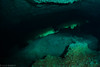 Green Vortex (jcl8888) Tags: cavern cave diving scuba freshwater underwater water green nikon d7200 tokina 1017mm nauticam diver mexico yucatan cenote dark mayan hole ancient history exploration travel adventure natural nature rock