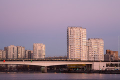 Nagatinsky Bridge During Sunset (Wholesale of Void) Tags: moscow moscowcity november winter daylight sunlight clearsky road traffic bridge river skyine cityscape subway underground metro nagatino residential residentialdistrict sunset urban street nagatinskydistrict