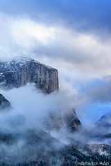 Yosemite - El Capitan, Building Storm (www.karltonhuberphotography.com) Tags: 2015 approachingstorm buildingstorm challenge change clouds cold drama elcapitan karltonhuber landscape light majestic mountain mountaintop naturalworld nature outdoors tension tunnelview verticalimage weather wildplaces yosemite yosemitenationalpark