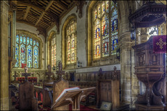 Castle Ashby - Church 6 (Darwinsgift) Tags: castle ashby church interior northamptonshire pce nikkor 24mm f35 d ed nikon d810 photomatix hdr