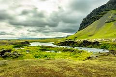 Iceland (webeagle12) Tags: iceland nikon d7200 europe mountains landscape vegetation rocks nature route1 green moss stream